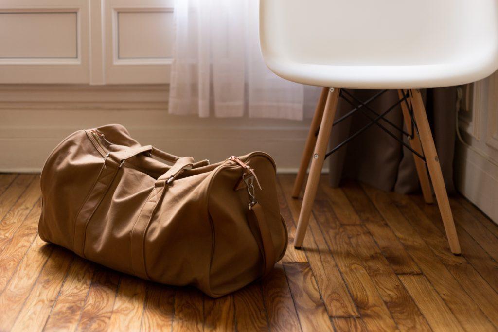 Una bolsa sencilla  o una mochila es más que suficiente para una semana de vacaciones en barco