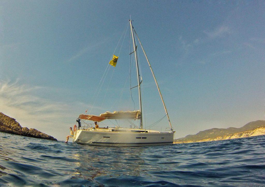 Viaje en velero Dufour 405GL Ibiza y Formentera