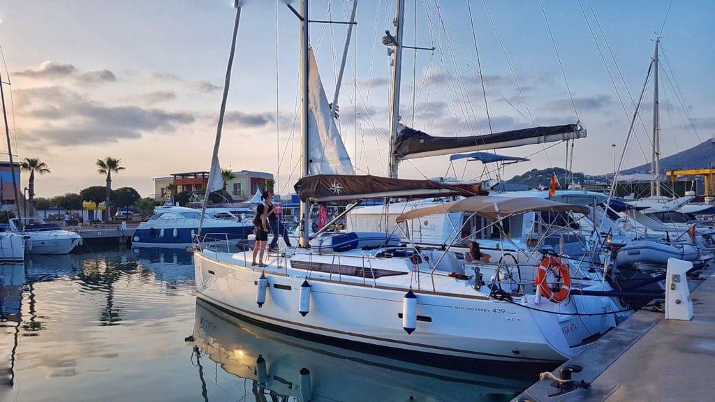 Velero SunOdyssey 43.9 Ibiza y Formentera