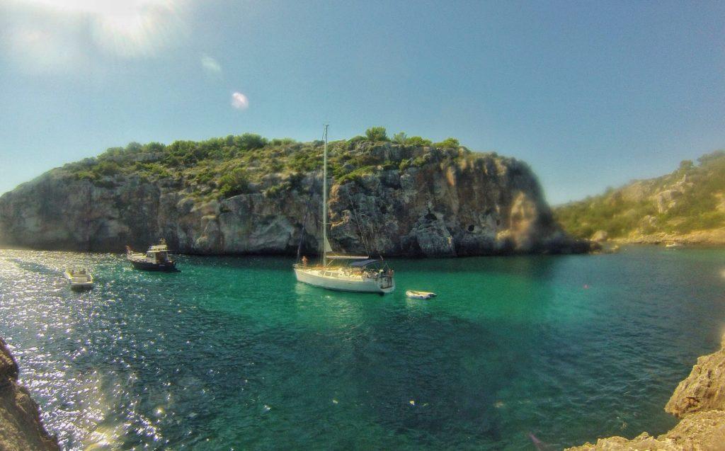 Viaje en velero Menorca