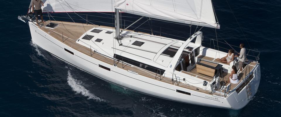 Velero Mallorca Oceanis 45